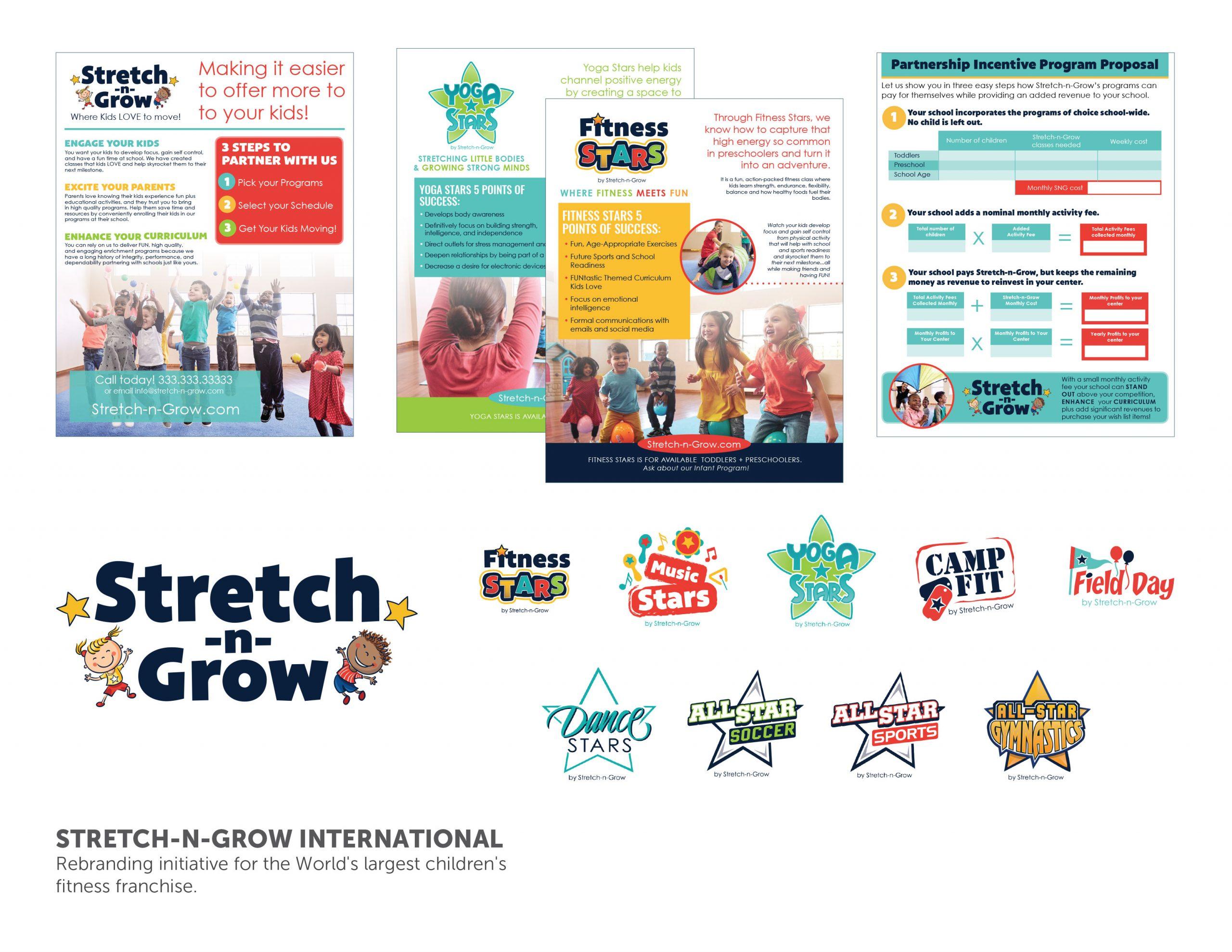 Stretch-n-Grow Rebrand
